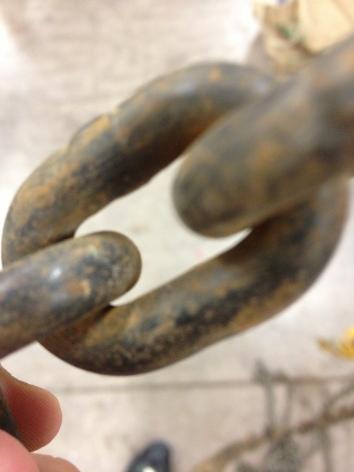 Rusty Load Chain