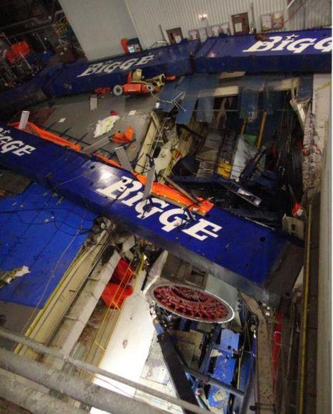 Overhead Crane Failure : Overhead crane accident always service your