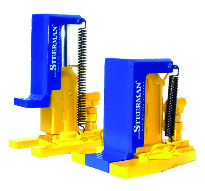 The Steerman Hydraulic Toe Jack- One of the best in the game, UK Made. Up to 10,000kg Capacity (10 Tonnes!!)