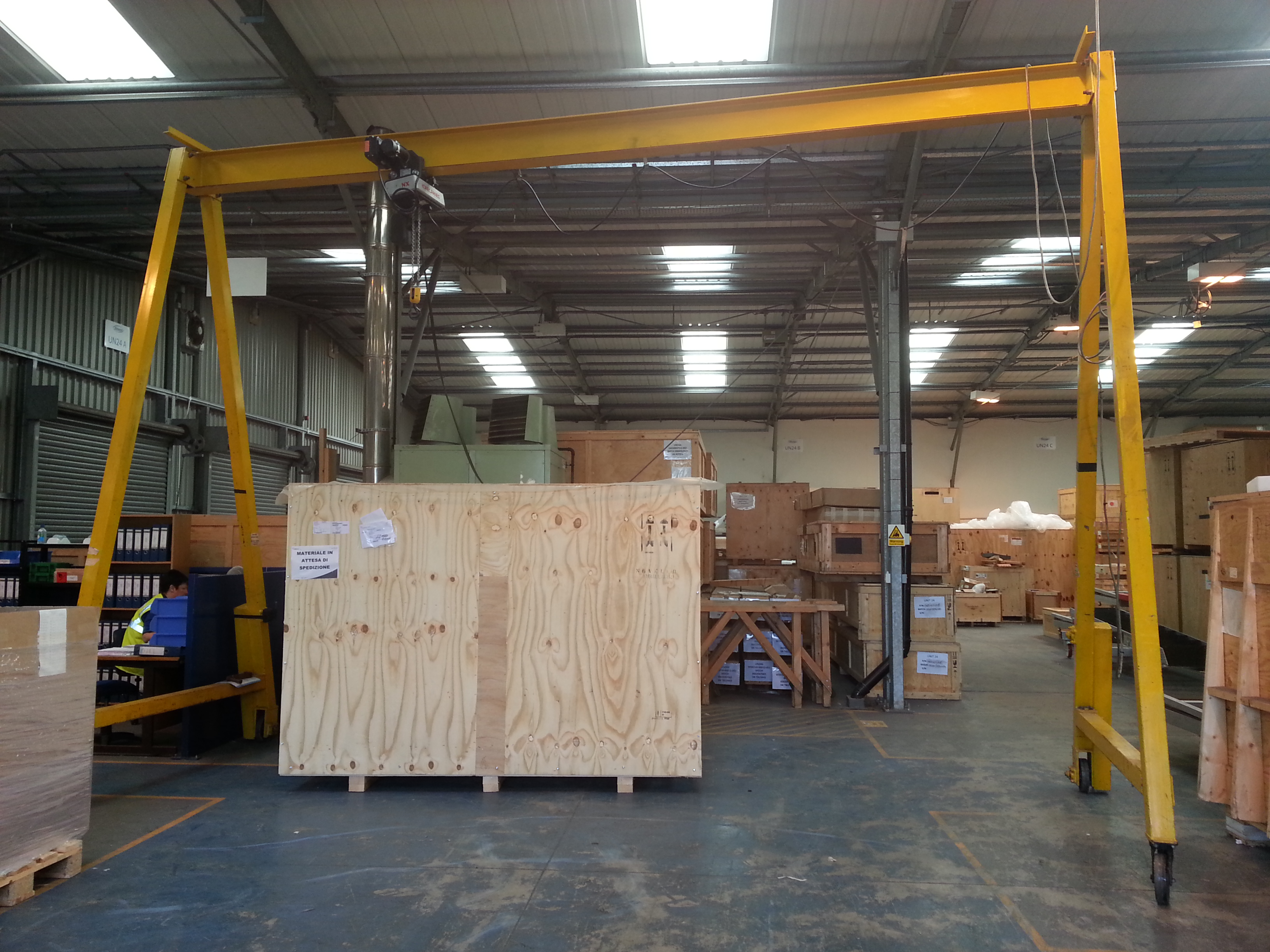 used 1 tonne a frame portable gantry system for sale